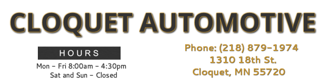 Cloquet Automotive - Transmission Specialists